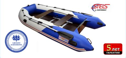 Лодка ПВХ Хантер STELS 335