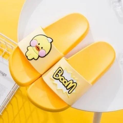Тапочки цыпленок желтые