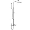 Душевая система с термостатом и тропическим душем для ванны DRAKO 335602RP300 - фото №1