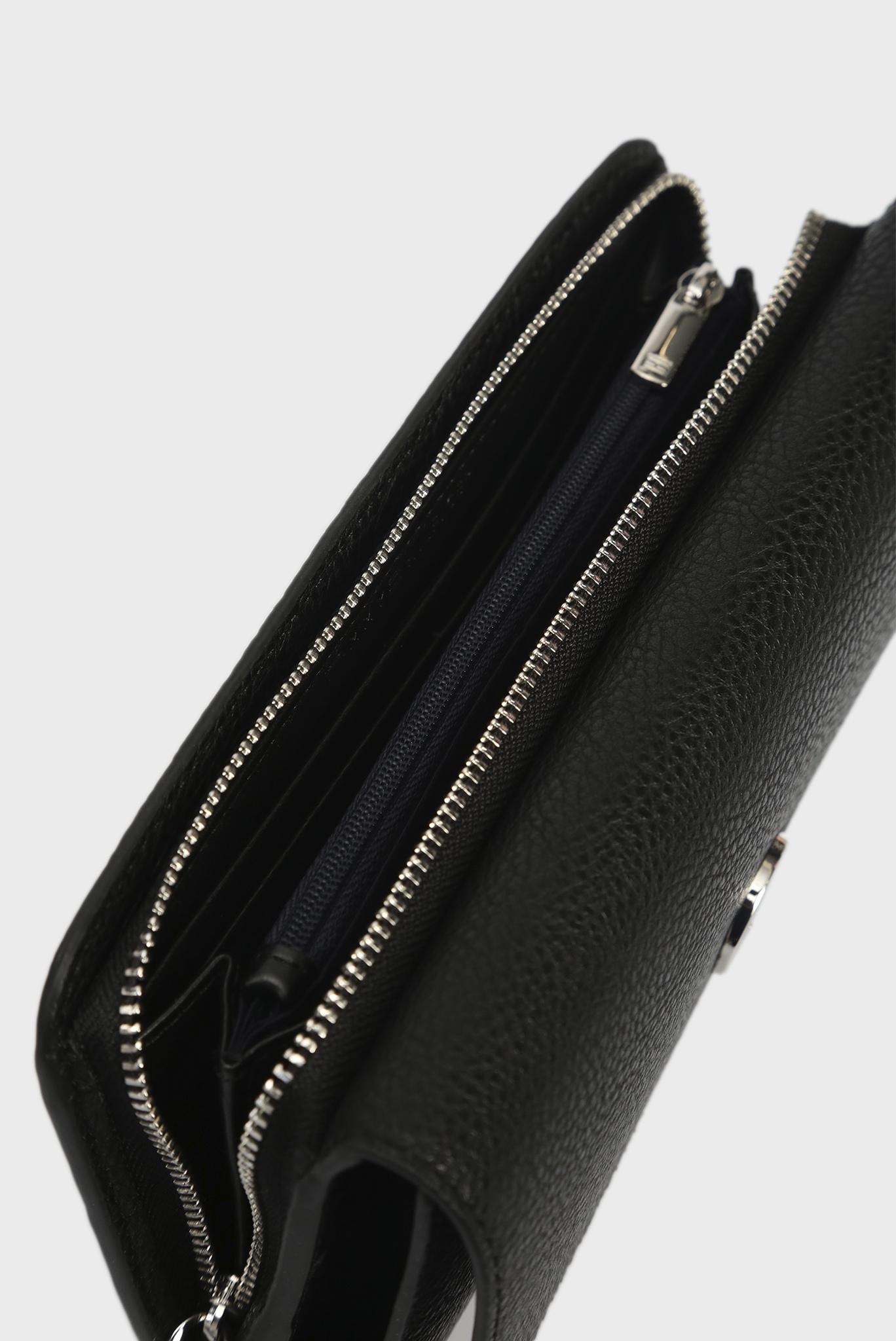 Женский черный кошелек  TH CORE TRAVEL WALLET Tommy Hilfiger