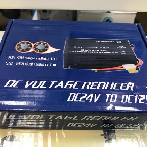 Преобразователь напряжения 24-30/12V 60A для автомобиля с 24 на 12 вольт
