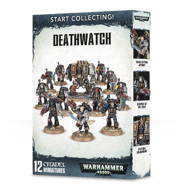 Start Collecting! Deathwatch. Коробка