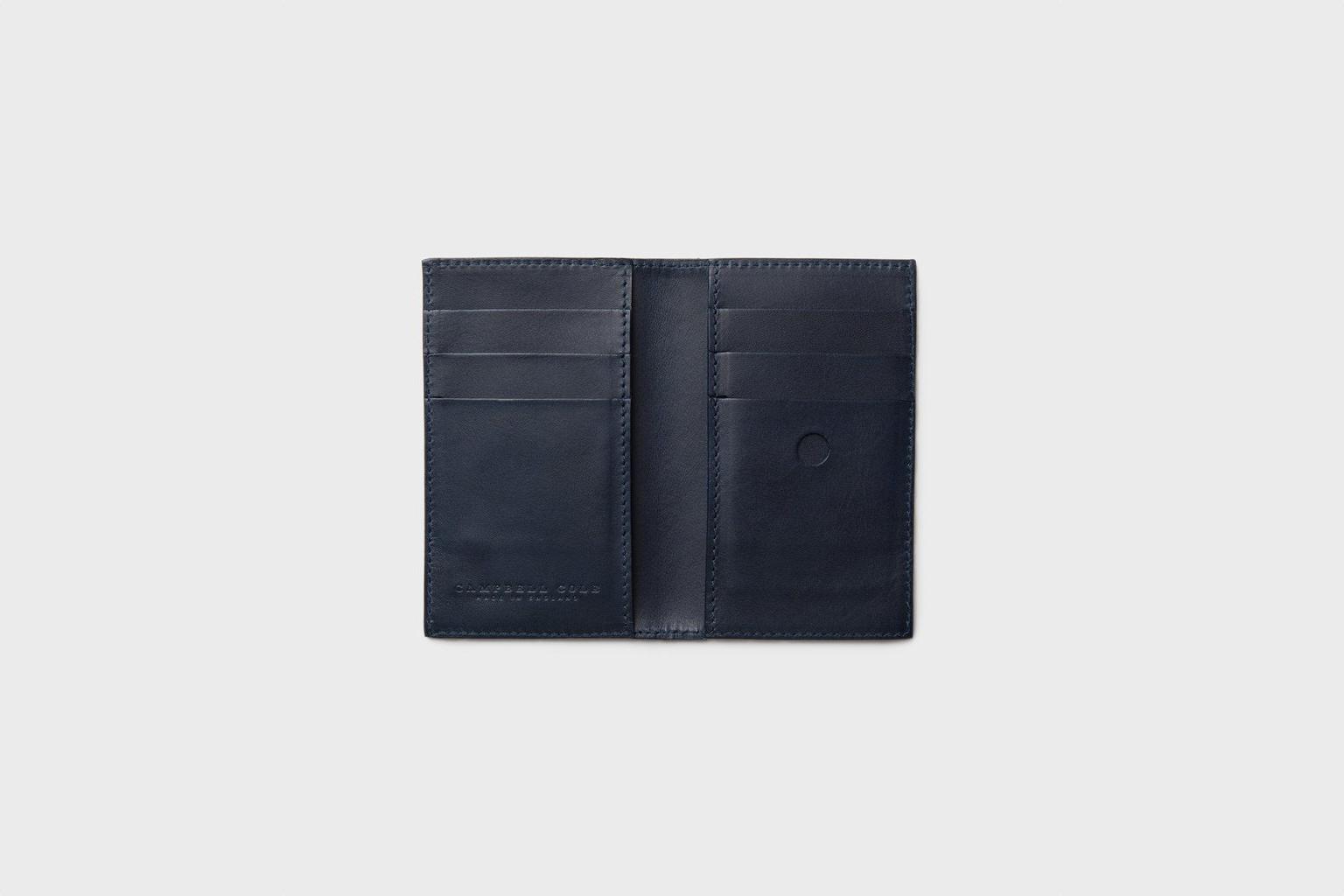 Campbell Cole Кошелёк Simple Slim Wallet Navy