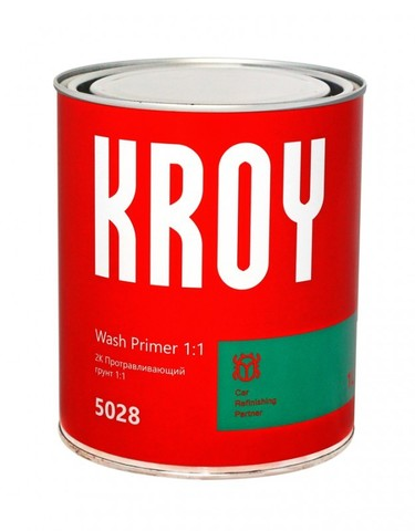 5028  KROY 2К Wash Primer 1:1 Протравливающий грунт + отверд. MR Wash Primer