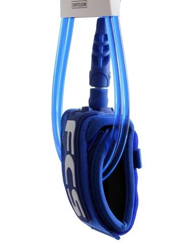 FCS 6' Comp Leash 5.5mm Blue Glass