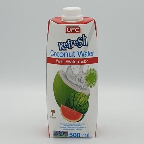 Кокосовая вода без сахара с арбузным соком UFC, 500 мл