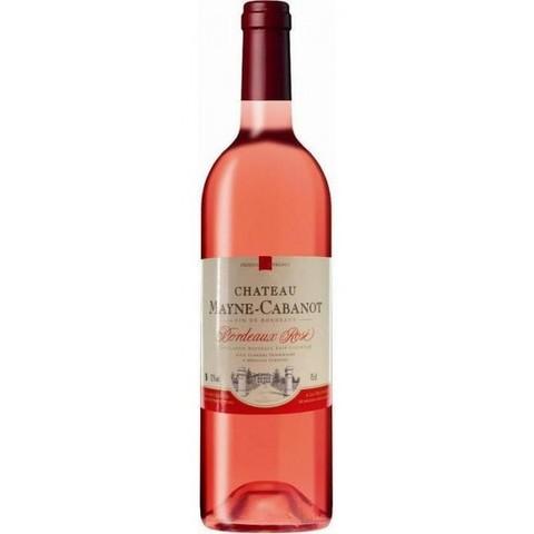 Вино защищ. наим. Шато Мейн Кабано Розе роз. сух. 11,5* Алкомаркет 0,75л