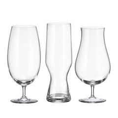 Набор бокалов для пива Crystalite Bohemia Beer 680 мл (2 шт), 630 мл (2 шт), 550 мл (2 шт), фото 3