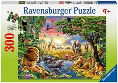 Puzzle Evening at the Waterhole 300 pcs
