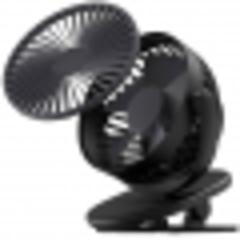 Портативный USB вентилятор Xiaomi SOLOVE clip fan Черный