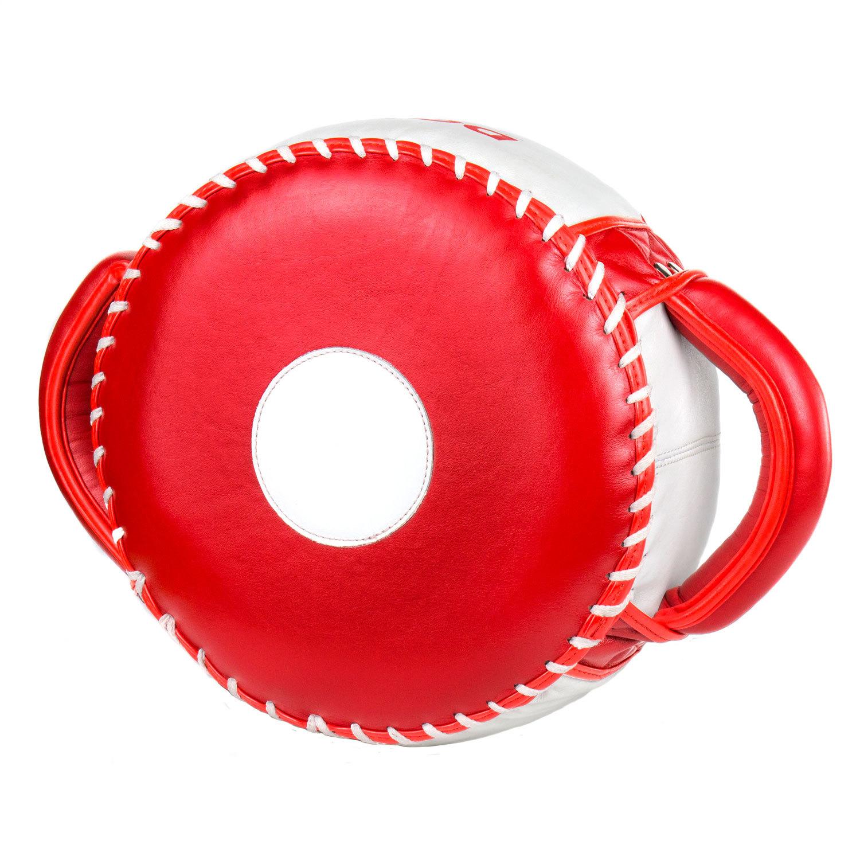 Макивара круглая Dozen Masters Pill красно-белая главный вид