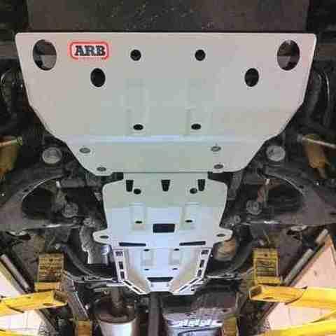 Установка защиты Mitsubishi L200