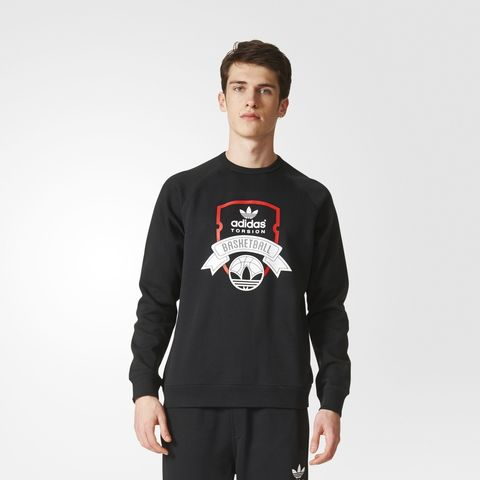 Свитшот мужской adidas ORIGINALS ADI TORSION CREW