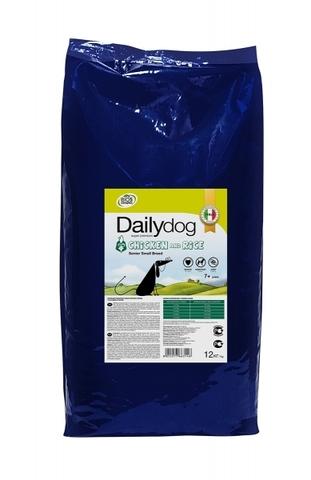 DailyDog Senior Small Breed Chicken and Rice для пожилых собак мелких пород с курицей и рисом 12 кг