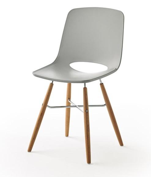 Дизайнерский стул DUPEN WASOSKY серый