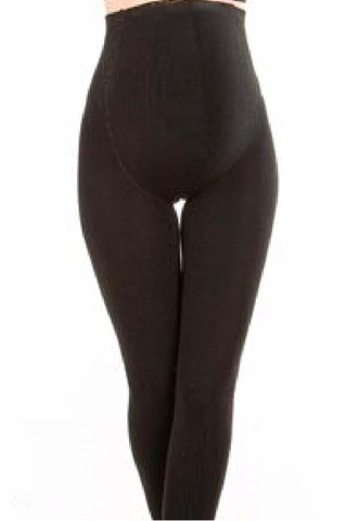 Колготки для беременных 600д махровые цвет черный