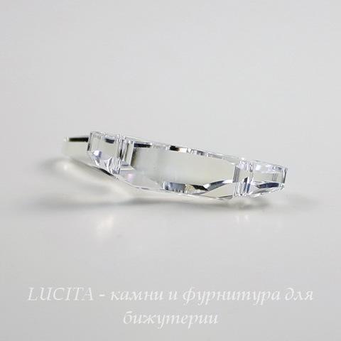 6791 Подвеска Сваровски Коралл Crystal Moonlight (25 мм)