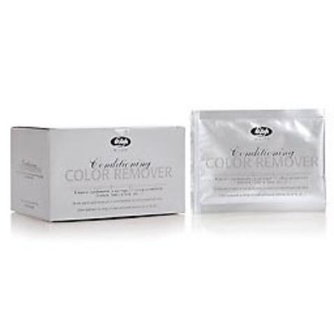 Порошковое средство для удаления косметического пигмента из волос  - Lisap Conditioning Сolor Remover