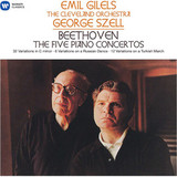 Emil Gilels, George Szell, The Cleveland Orchestra / Beethoven: The Five Piano Concertos (5LP)
