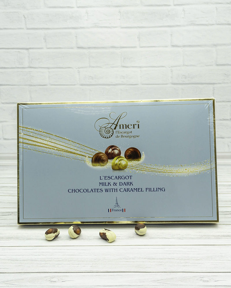 Набор Шоколадных Конфет Ameri с Карамельной Начинкой 330 гр.