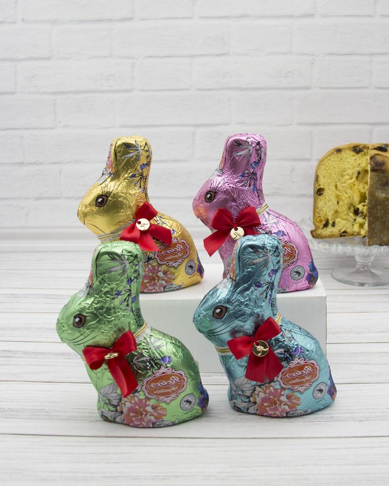 Набор Конфет Reber Из Молочного Шоколада Пасхальный заяц 4x110 гр