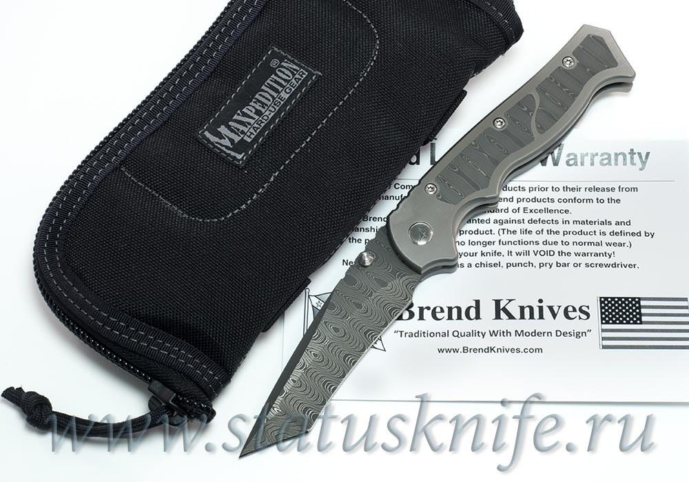 Нож Walter Brend Marauder Damascus - фотография