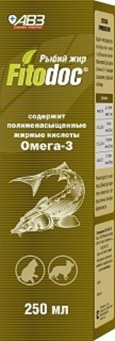 Рыбий жир Фитодок 250 мл.