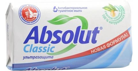 Мыло ABSOLUT Ультра защита 90 гр Весна РОССИЯ