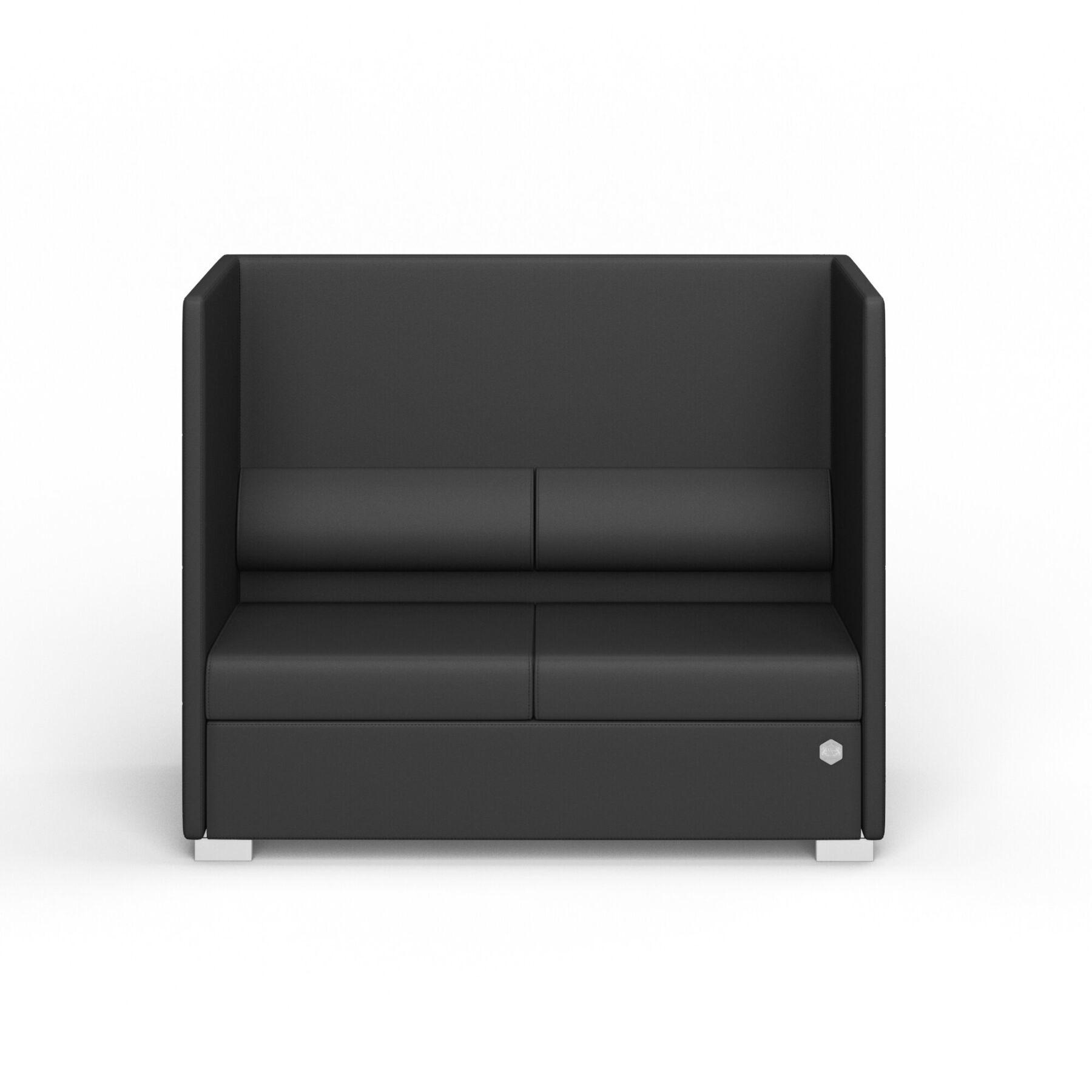 Двухместный диван KULIK SYSTEM PRIVATE Экокожа 2