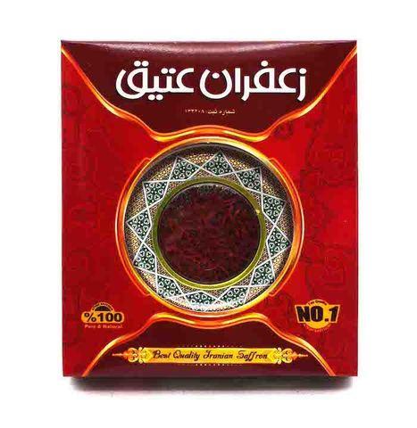 Иранский шафран, Atigh Saffron,1 г