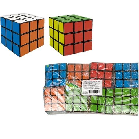 Кубик Рубик Интеллектуальная игра 1кор*45бл*8шт