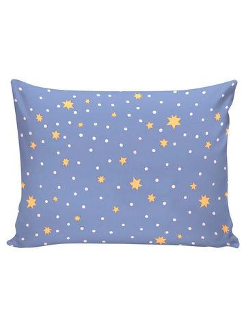 Постельное белье  -Зимние звезды- 2-сп на молнии  Наволочка 50х70 см 2 шт  Простынь на резинке 160х200х26 см  Пододеяльник 175х215 см