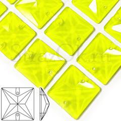 Неоновые пришивные стразы Neon Yellow, Square купить оптом