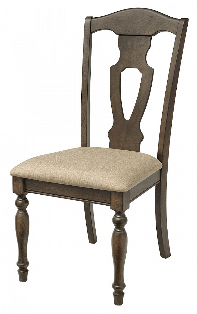 СТУЛ LT C17451 WALNUT #K536/ FABRIC FB56