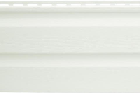 Виниловый сайдинг Альта Профиль белый 3660х230 мм