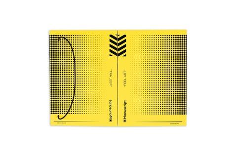 Скетчбук Manuscript Off-yellow Dot Plus – A5 В точку