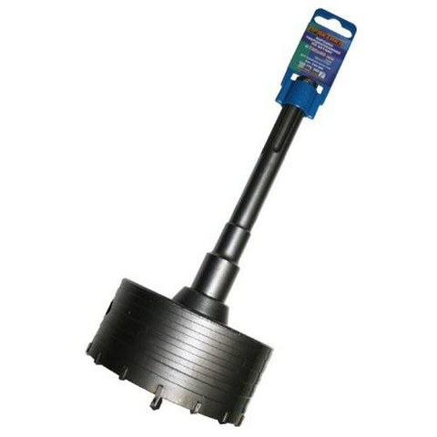 Коронка твердосплавная ПРАКТИКА SDS-Max ударная 120 мм (1шт.) клипса (038-869)