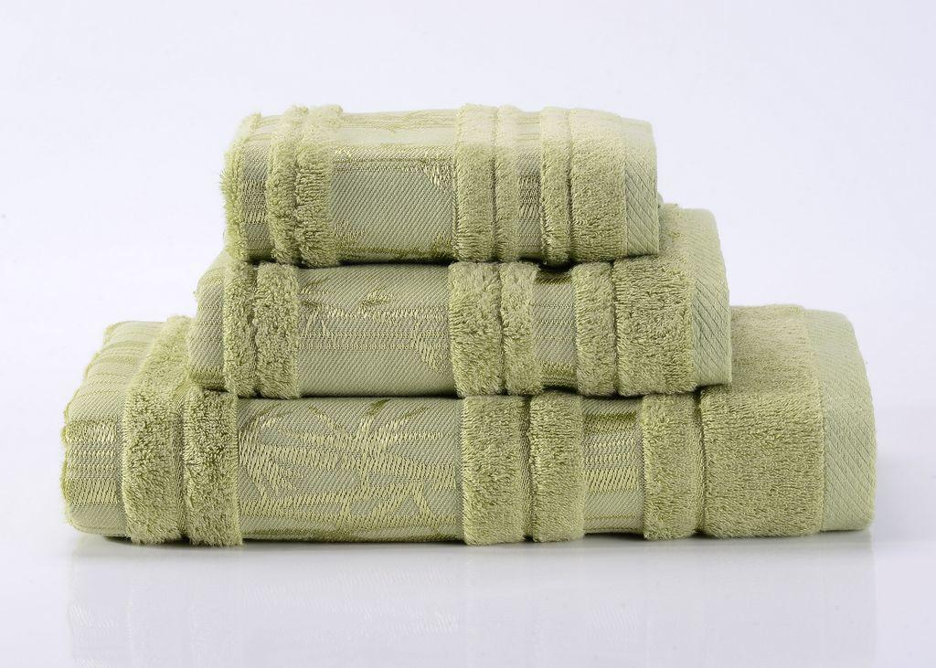 Полотенца Bamboo CL-7  светло-зеленое бамбуковое махровое  полотенце Valtery 19329_bamboo-cl-7-polotentse-bannoe.jpg