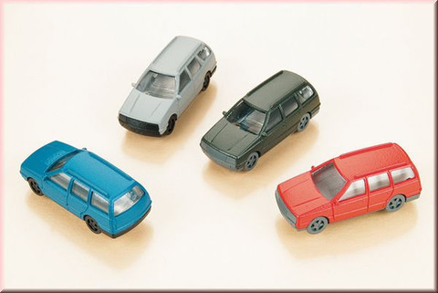 Набор грузолегковых автомобилей - 4шт. (TT)