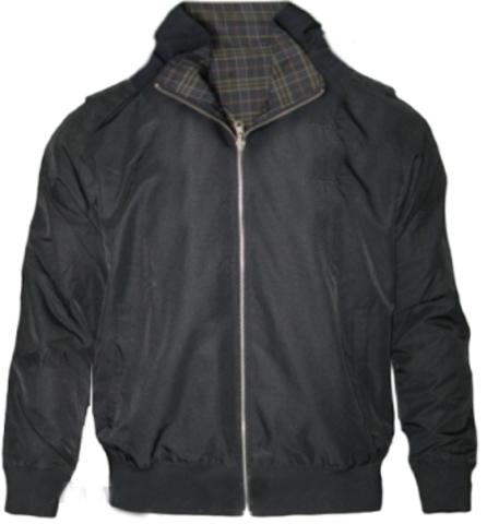 Куртка ветровка Champion реверс черная