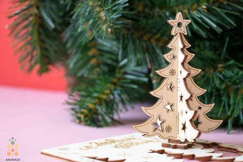Новогодняя ёлочка (UNIWOOD)