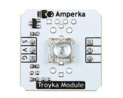 Светодиод «Пиранья» (Troyka-модуль) (Зеленый)