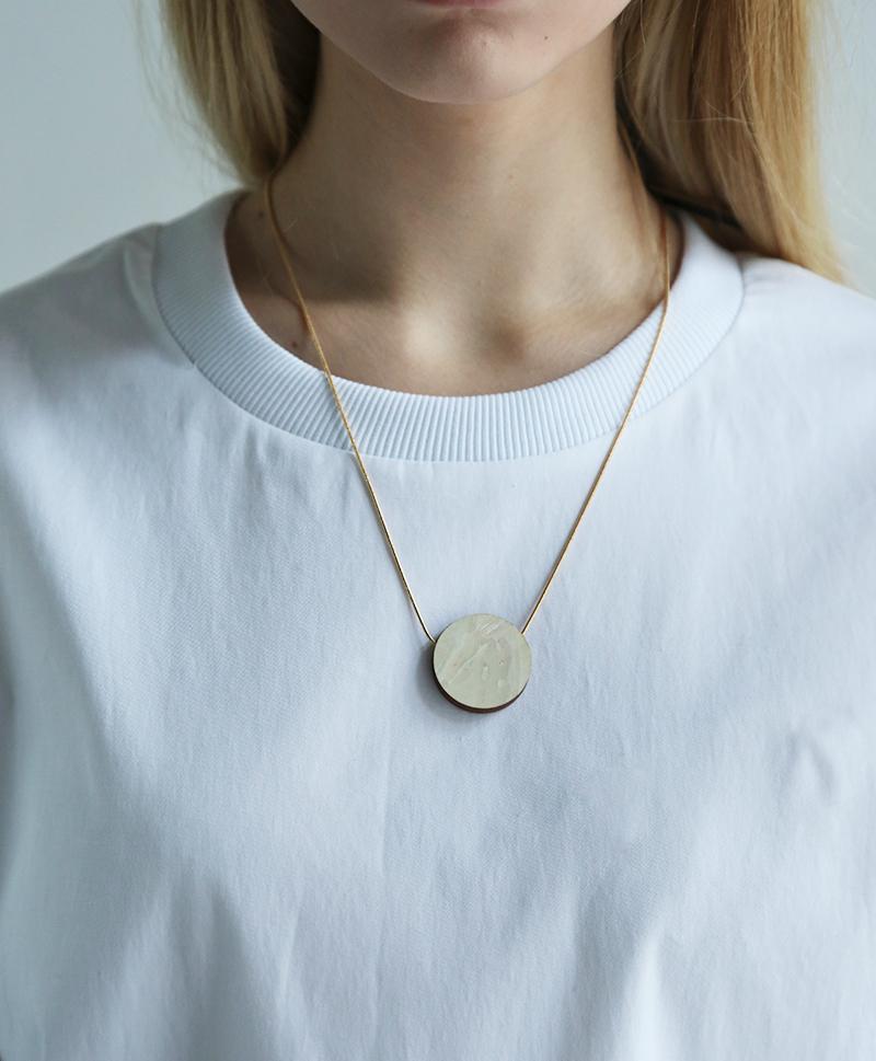 Подвеска Eclipse II Necklace Mother of Pearl
