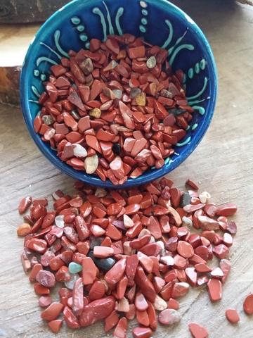 Яшма красная 3-5 мм ГМ-025