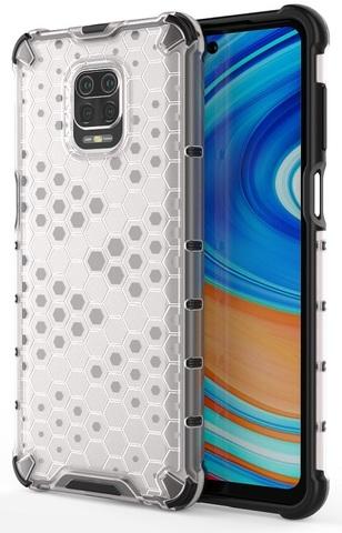 Ударопрочный защитный чехол для смартфона Xiaomi Redmi Note 9s и 9Pro от Caseport, серия Honey