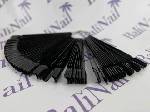 Типсы демонстрационные на болте (черные), 50 шт