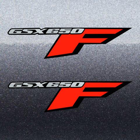 Набор виниловых наклеек на мотоцикл SUZUKI GSX 650F, 2008