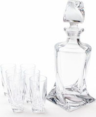 Набор для водки и ликера из 7 предметов «Quadro», фото 2