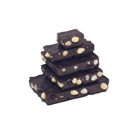 Детский шоколад ремесленный молочный, 54% какао, на меду, с кедровым орехом, 50 гр