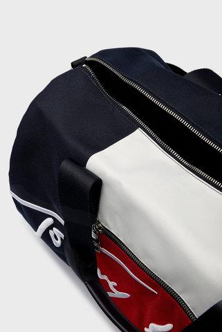 Мужская темно-синяя спортивная сумка TH SIGNATURE DUFFLE Tommy Hilfiger